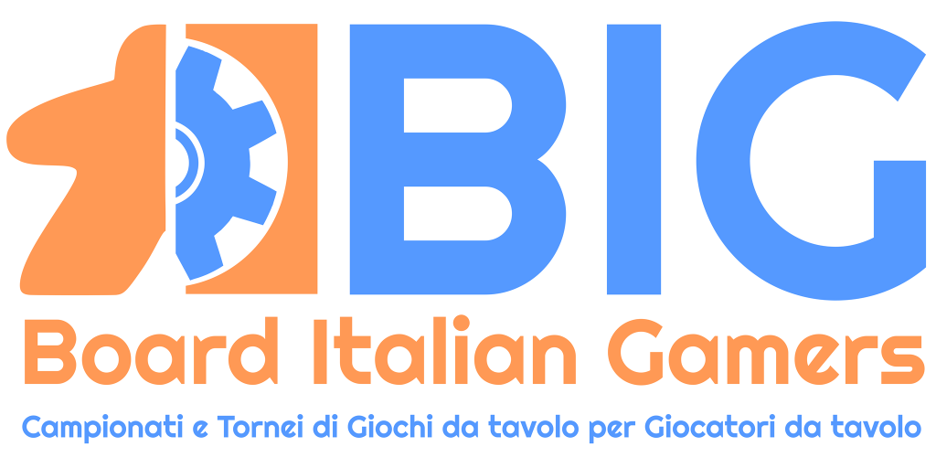 Board Italian Gamers - BIG - 2018 - Finali Italiane